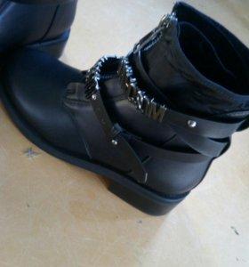 Новые ботинки(зима)
