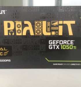 Видеокарта Palit GeForce GTX 1050Ti 4G
