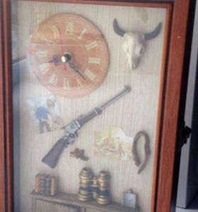 Ключница-часы