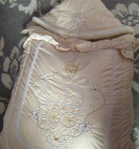 Конверт-одеяло, очень теплый
