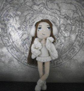 кукла Девочка Зима
