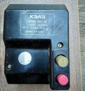 Автоматический выключатель АП50Б 3МТ.