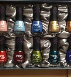 Набор гель-лаков для ногтей PINK UP