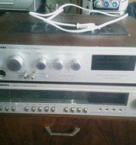 Радиотехника усилитель+тюнер