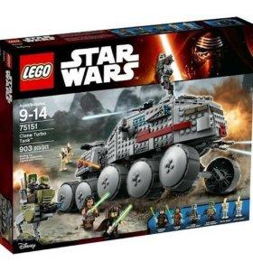 Lego 75151 Турботанк клонов