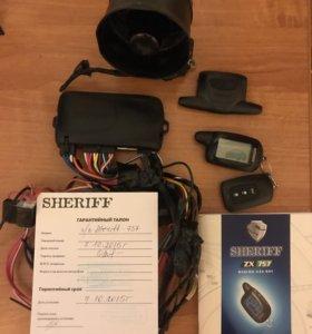 Автосигнализация Sheriff zx 757