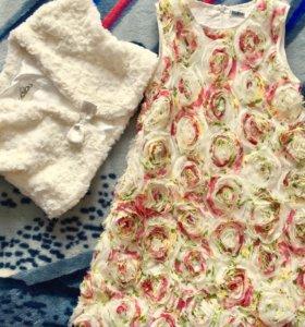 Платье детское, очень крутое👌🏻одевалось 1 раз!!!