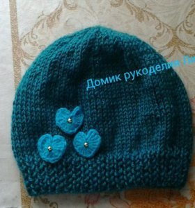 Вязание детских шапок, шарфов на заказ