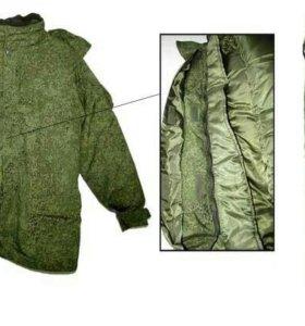 Зимний костюм полевой (пиксель).