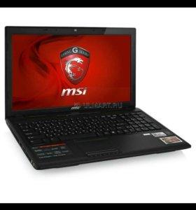 Игровой ноутбук msi ge60
