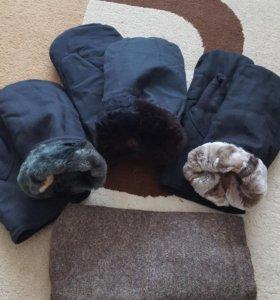 Продам новые натуральные рукавицы