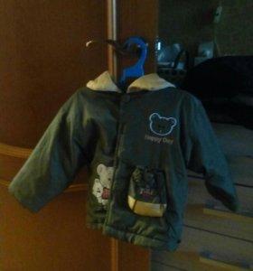 Куртка осенняя б/у