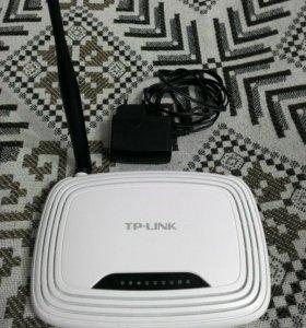 Роутер WiFi модели TP-link TL-WR740N
