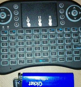 Мини беспроводная клавиатура с тачпадом!