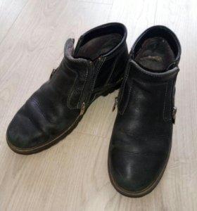 Ботинки зимние р.39