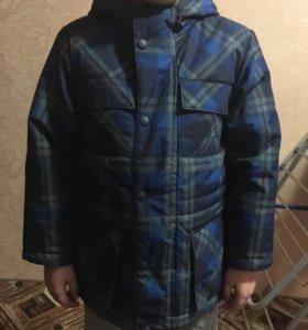Куртка на холодную осень, тёплую зиму
