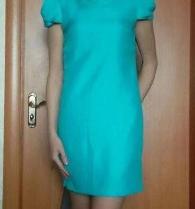 Платье бирюзовое от kira plastinina