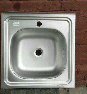 Раковина кухонная ( 50×50 см)