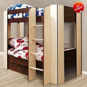 Детская Кровать - Двухместная