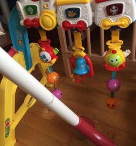 Развивающий коврик + развивающая игрушка