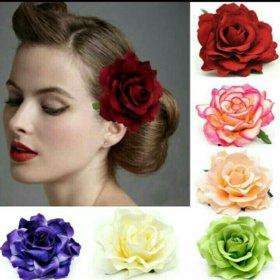 Новый цветок в волосы