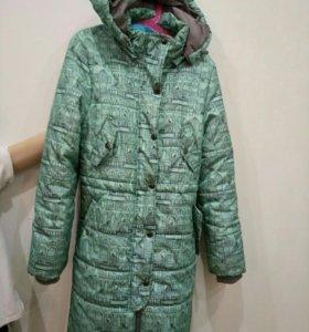 Пальто зимнее 152 размер