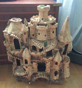 Супер красивый Аквариумный замок