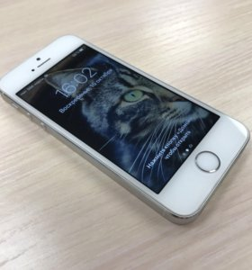 Apple iPhone 5s 16gb silver (LTE)