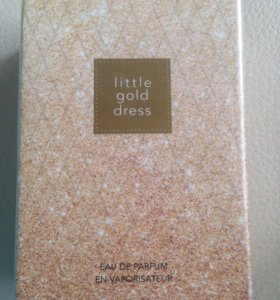 Парфюм. Вода Little gold dress