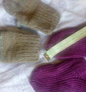 Носочки+рукавички