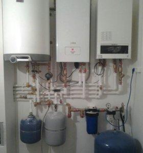 Отопление, водоснабжение, монтаж сантехники.