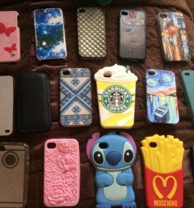 Чехлы для телефона iPhone 4/4s