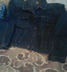 Куртка джинсовая р. 56-58