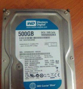 Жесткий диск на комп 500GB