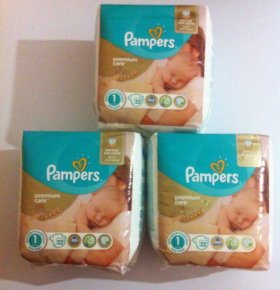 Подгузники Pampers premium care 1(2-5 кг)
