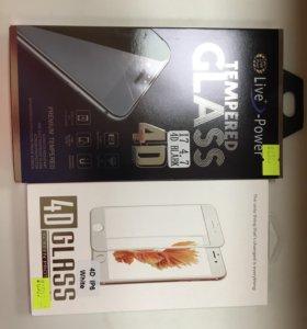 Защитное стекло IPhone 6-6s 4D