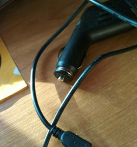 Deppa Classic microUSB 2.1A, Black автомобильное З