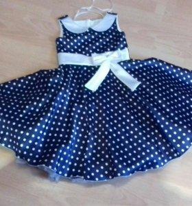 Платье для девочки 6-7 лет