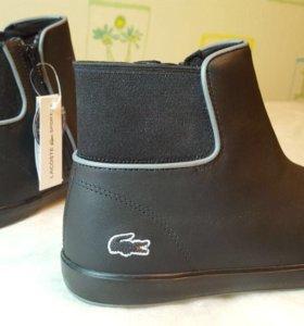 Ботинки новые Lacoste