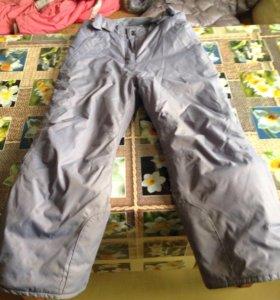 Зимние брюки для девочки