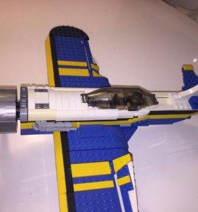 Лего Самолёт 3 в 1