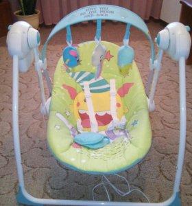 Качели-шезлонг Happy Baby