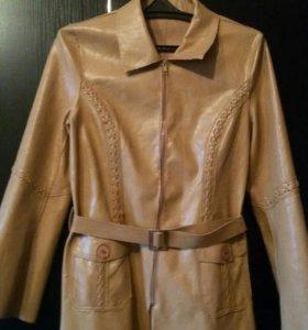 Кожанный пиджак,как куртка