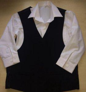 Рубашка и жилет для мальчика