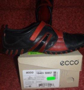 Туфли ЭККО из натуральной кожи 40 размер