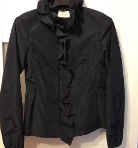 Куртка-ветровка новая orsa чёрная