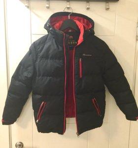 Пуховик /Зимняя куртка 140см