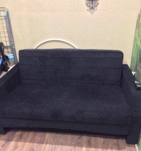 Вельветовый диван