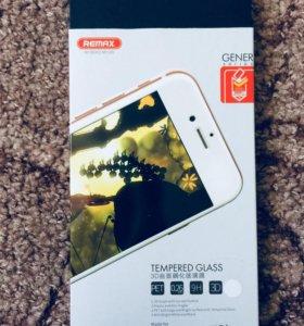 Прорезиненное стекло для iPhone 6+/6s+