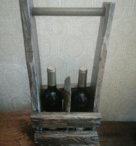 Подарочный ящик под спиртные напитки